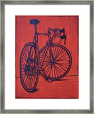 Bike 4 Framed Print by William Cauthern