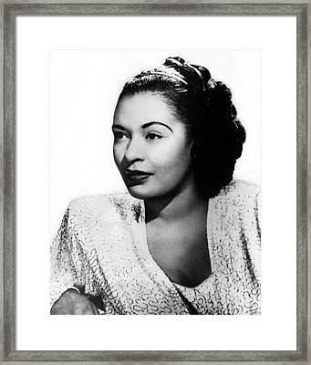 Billie Holiday Framed Print by Retro Images Archive