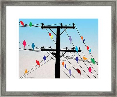Birds  Framed Print by Mark Ashkenazi