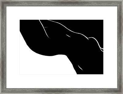 Black Magic Woman Framed Print by Stefan Kuhn