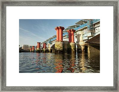 Blackfriars Bridge Framed Print by Ashley Cooper