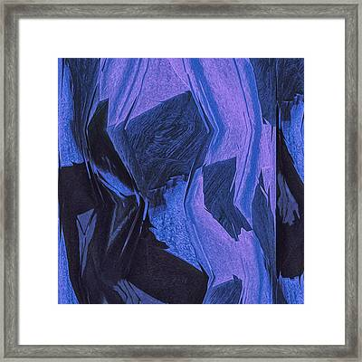 Blue Framed Print by Jack Zulli
