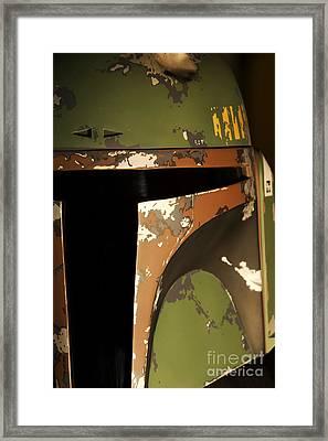 Boba Fett Framed Print by Micah May