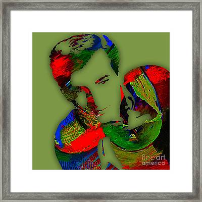 Bobby Darin Collection Framed Print by Marvin Blaine