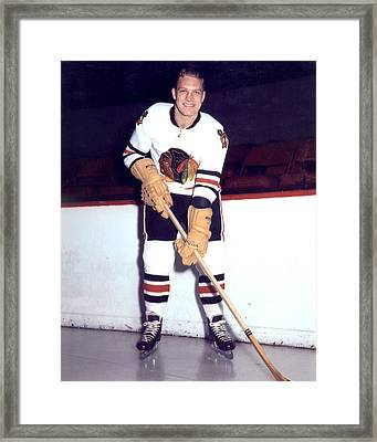 Bobby Hull Framed Print by Retro Images Archive