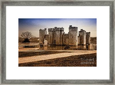 Bodiam Castle Framed Print by Donald Davis