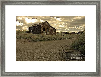 Bodie California Framed Print by Nick  Boren