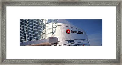 Bok Center At Downtown Tulsa, Oklahoma Framed Print by Panoramic Images