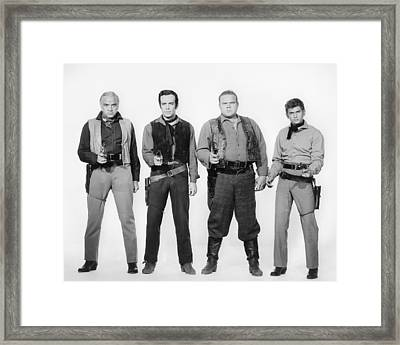 Bonanza  Framed Print by Silver Screen