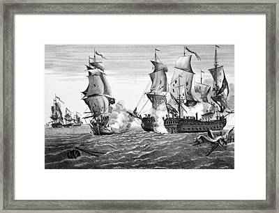 Bonhomme Richard, 1779 Framed Print by Granger