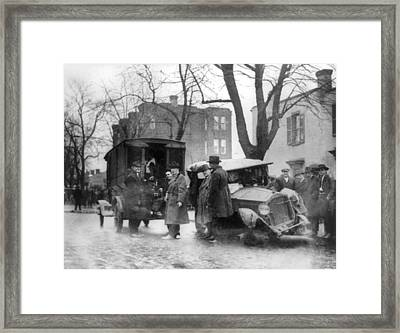 Bootlegging And Prohibition Framed Print by Everett
