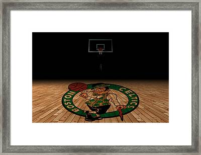 Boston Celtics Framed Print by Joe Hamilton