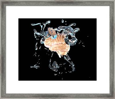 Brainwashing Framed Print by Christian Darkin