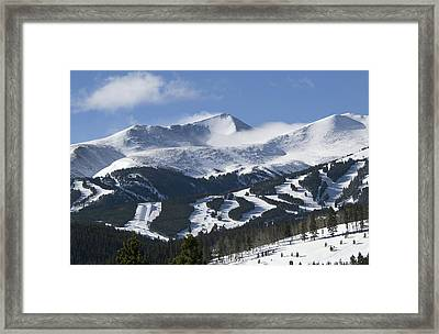 Breckenridge Resort Colorado Framed Print by Brendan Reals