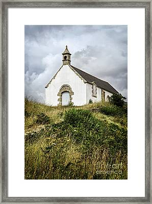 Breton Church Framed Print by Elena Elisseeva