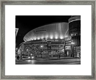 Bridgestone Arena - Nashville Framed Print by Mountain Dreams