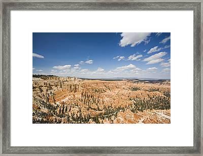 Bryce Canyon National Park Framed Print by David Davis
