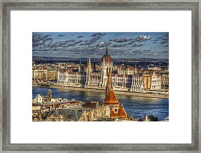 Buda Parliament  Framed Print by Nathan Wright