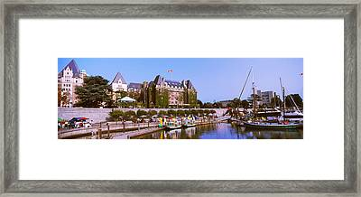 Buildings At The Waterfront, Empress Framed Print by Panoramic Images