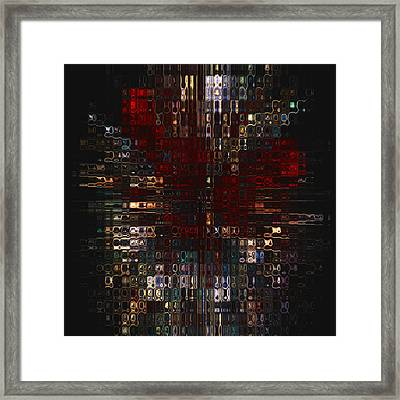 Burst  Framed Print by Jack Zulli