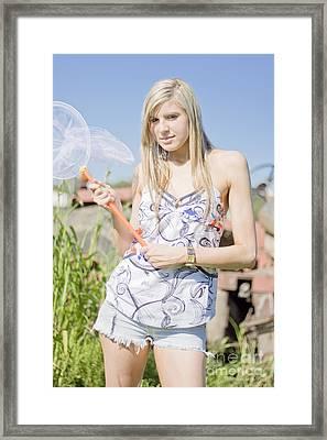 Bush Ambush Framed Print by Jorgo Photography - Wall Art Gallery