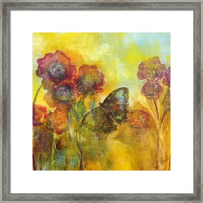 Butterfly Framed Print by Katie Black