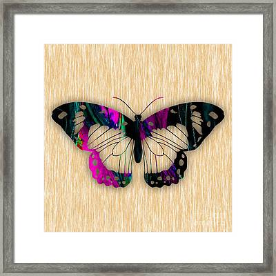 Butterfly Framed Print by Marvin Blaine