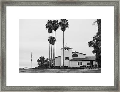 Cal Poly Pomona Union Plaza Framed Print by University Icons