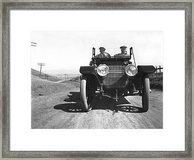 California El Camino Highway Framed Print by Arthur Spaulding Company