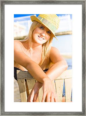 California Girl Framed Print by Jorgo Photography - Wall Art Gallery