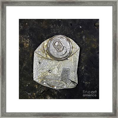 Can Framed Print by Bernard Jaubert
