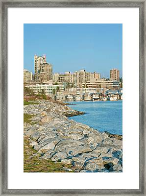 Canada, Bc, Vancouver, North Vancouver Framed Print by Rob Tilley