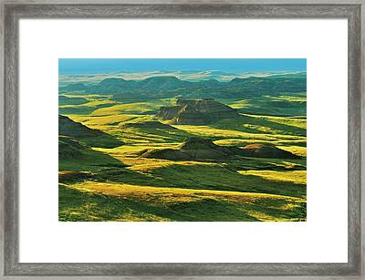 Canada, Saskatchewan, Grasslands Framed Print by Jaynes Gallery