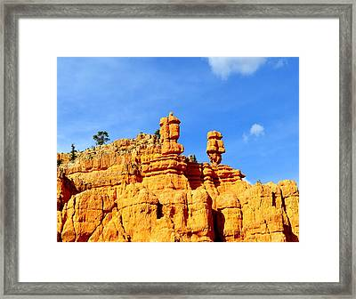 Canyon3 Framed Print by Ernesto Cinquepalmi