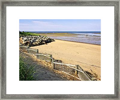 Cape Cod Bay Morning Framed Print by Frank Winters