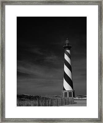 Cape Hatteras Lighthouse Framed Print by Mountain Dreams