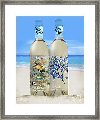 Carey Chen Fine Art Wines Framed Print by Carey Chen