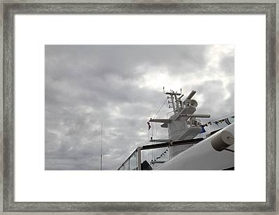 Caribbean Cruise - On Board Ship - 121231 Framed Print by DC Photographer