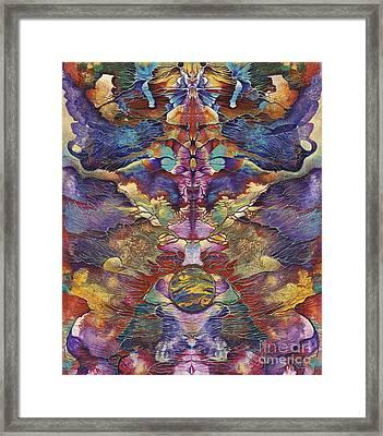 Carnaval Framed Print by Ricardo Chavez-Mendez