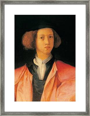Carrucci Jacopo Know As Pontormo Framed Print by Everett