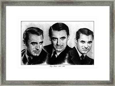 Cary Grant Framed Print by Andrew Read