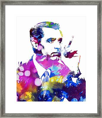 Cary Grant Framed Print by Doc Braham