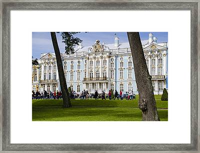 Catherine Palace - St Petersburg Russia Framed Print by Jon Berghoff