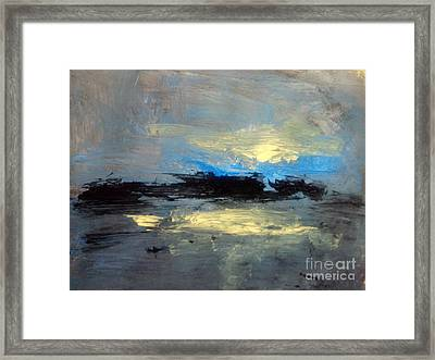 Centre  Framed Print by Trilby Cole