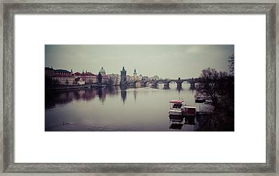Charles Bridge Framed Print by Daniel Kocian