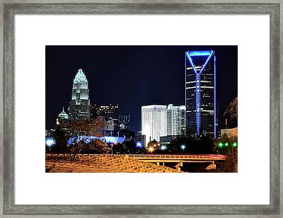Charlotte Towers Framed Print by Frozen in Time Fine Art Photography