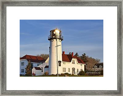 Chatham Lighthouse Framed Print by John Greim