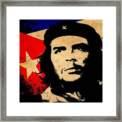 Che Guevara Framed Print by Andrew Fare