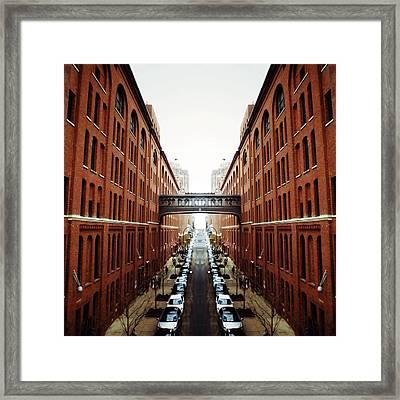 Chelsea Symmetry Framed Print by Natasha Marco