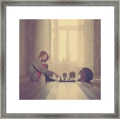 Chess Framed Print by Anka Zhuravleva